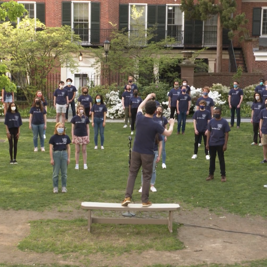 """Yale Glee Club – """"Raise Your Voices Here"""""""